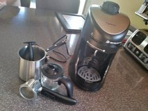 CAPRESSO ESPRESSO MACHINE WITH ACCESSORIES in Chicago, Illinois