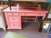 Shabby Chic Pink Desk in St. Charles, Illinois