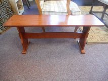 Timeless Wood Bench in Elgin, Illinois