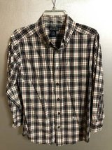 The Children's Place boys button down shirt plaid size M 7/8 in New Lenox, Illinois
