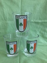 Lot of 3 Glass Ireland St.Patricks Day in Bolingbrook, Illinois