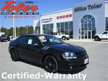 2014 Dodge Avenger R/T Sedan-Certified-Warranty(Stk#14521a) in Cherry Point, North Carolina