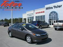 2012 Honda Civic LX Sedan(Stk#p2235a) in Cherry Point, North Carolina