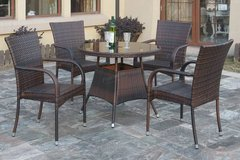 New! Outdoor Patio Dining Table + 4 Chairs FREE DELIVERY in Vista, California