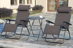 New! Zero Gravity Patio Outdoor Chair Lounger starting.. in Vista, California