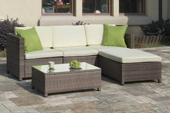 New! Outdoor Patio Sectional Sofa + Ottoman FREE DELIVERY in Vista, California