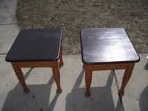 ALL WOOD END TABLES SOLD AS A SET in Naperville, Illinois