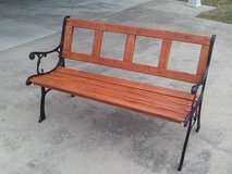 Outdoor Patio Bench (Price Reduced) in Byron, Georgia