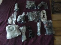 12 ASSORTED CORDS-PLUGS-CABLES-DON'T KNOW WHAT THEY ARE FOR in Aurora, Illinois