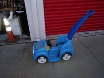 Stroller Push Car Ride-On Toy- Blue I will be in Fairifield on Saturday 6/16 in Sacramento, California