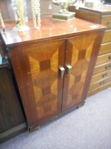 Upcycled cabinet in Chicago, Illinois