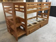 Twin over Twin Staircase Bunk Bed with Storage in Joliet, Illinois