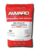 2 (50 LB. BAGS) AWARD BROAD LEAF WEED CONTROL TURF FERTILIZER (NEVER OPENED) in Joliet, Illinois