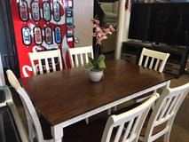 WHITE 7 PC DINETTE SET in Pearl Harbor, Hawaii