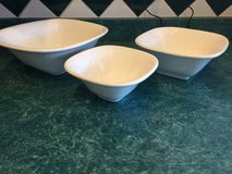 3 piece stoneware bowls in New Lenox, Illinois
