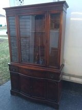 Vintage china cabinet in New Lenox, Illinois