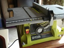 "RYOBI 10"" TABLE SAW WITH STAND in Lockport, Illinois"