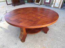Round Coffee Table in Lockport, Illinois
