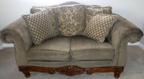 Love Seat - Olive / Sage Green in New Lenox, Illinois