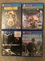 PS4 Games in Travis AFB, California