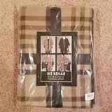 new in plastic ike behar womens tan/brown/black reversible fashion wrap one size in Lockport, Illinois