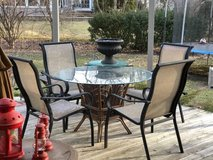 ~PATIO SET~TABLE AND FOUR CHAIRS in Aurora, Illinois