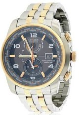 "Citizen Men's ""World Time A-T"" Stainless Steel Two-Tone Eco-Drive Watc in New Lenox, Illinois"