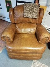 Brown Leather chair in Bolingbrook, Illinois