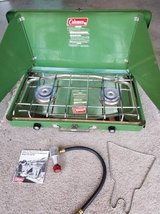 Coleman 2-burner propane camp stove in excellent condition in Camp Pendleton, California
