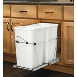 Like New! Rev-A-Shelf Pull out Trash Cans Under Counter Bottom Mount in Bolingbrook, Illinois