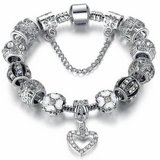 New European Charm Bracelet For Women Silver Chain Bracelets & Bangles in Fort Drum, New York