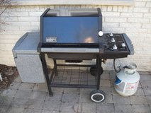 WEBER SILVER SERIES GAS GRILL in Naperville, Illinois