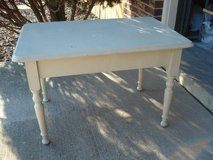 small table - solid wood in Naperville, Illinois