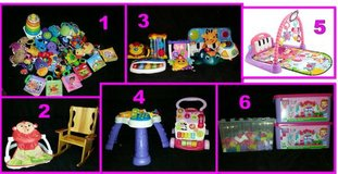 Toys, toys, and more toys for babies and toddlers in Fort Rucker, Alabama