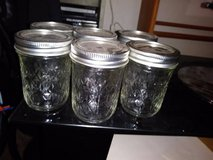 Ball Mason 1/2-Pint Canning Jelly Jars Seal Lid Ring 8 oz Quilted in Fairfield, California