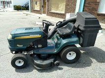 Craftsman 42 inch riding Mower With Bagger in Hinesville, Georgia