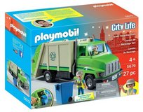 New! Playmobil City Life Green Recycling Truck 27pc Playset ~Ages 4+ in Bolingbrook, Illinois