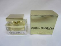 New Women Dolce & Gabbana THE ONE Eau de Parfum 2.5 Oz Women in Aurora, Illinois
