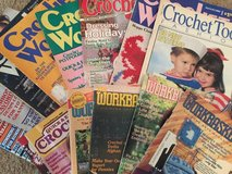 Huge Assortment of Workbasket (Crochet/Knitting) & Crochet Magazines in Warner Robins, Georgia