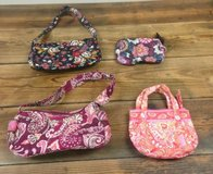 9 Piece Lot VERA BRADLEY 8 Purses Clutch Wallets & 1 Matching Double Picture Frame RARE Lot in Morris, Illinois