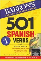 501 spanish verbs with cd-rom and audio cd 501 verb series   free shipping in Springfield, Missouri