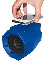 wireless speaker portable boom box blue free expedited shipping in Springfield, Missouri