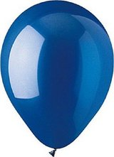 "balloons 12"" crystal sapphire blue latex balloons, cti industries 100 count in Springfield, Missouri"
