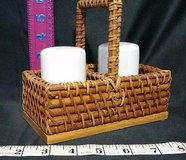 salt & pepper shakers with country basket   free expedited shipping in Springfield, Missouri