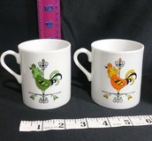rooster weather vane mug cup vintage    free expedited shipping in Springfield, Missouri