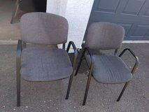 2 Very light weight comfortable office chairs in Sacramento, California