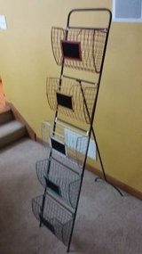 Organizer-Mail, Files, Papers, ect.. - 5 Removable baskets with stand in Shorewood, Illinois