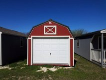 Pre-owned 12x24 Lofted Garage in Conroe, Texas