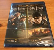 SEALED Blu-Ray Double Feature Harry Potter Deathly Hollows Part 1 + 2 in Oswego, Illinois
