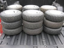TIRES FOR  MOWER  DOLLY  WAGON  GO-CART  MINI BIKE  SNOWBLOWER  CART in Elgin, Illinois